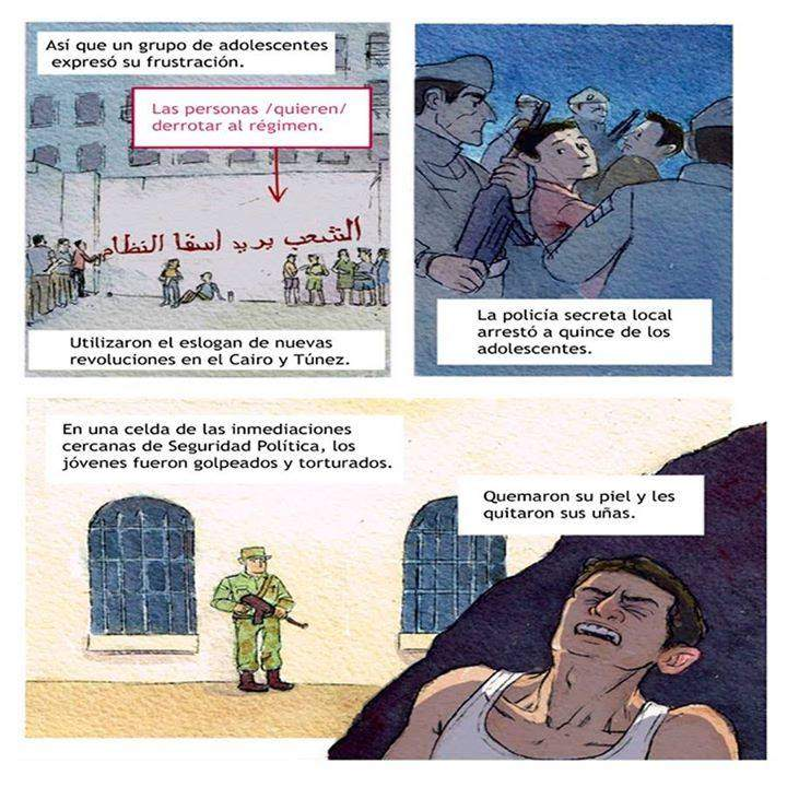 dolor siria explicacion