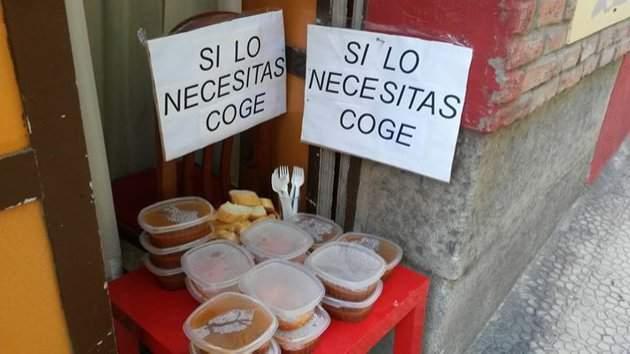 Las iniciativas solidarias de varios restaurantes que donan aquellos alimentos que les sobran cada día 28