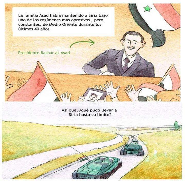 siria guerra comic