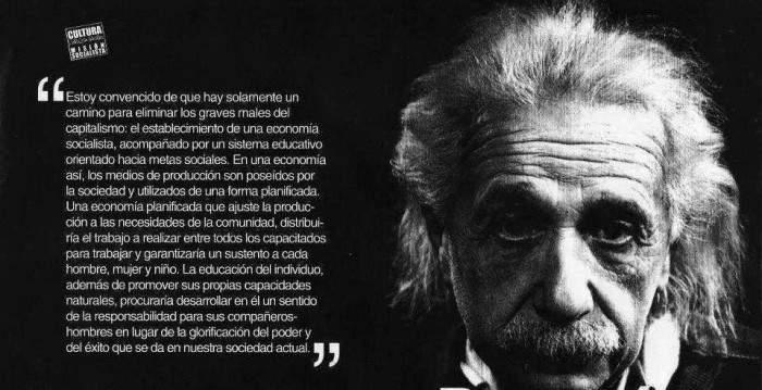 Esta es la solución que propuso Albert Einstein para eliminar los 'males del capitalismo' 1