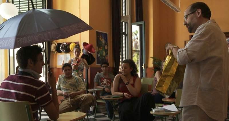 Fotograma del documental 'Entre maestros'