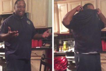 Mira la reacción de un hombre cuando su esposa le dice que está embarazada tras 17 años de intentos 10