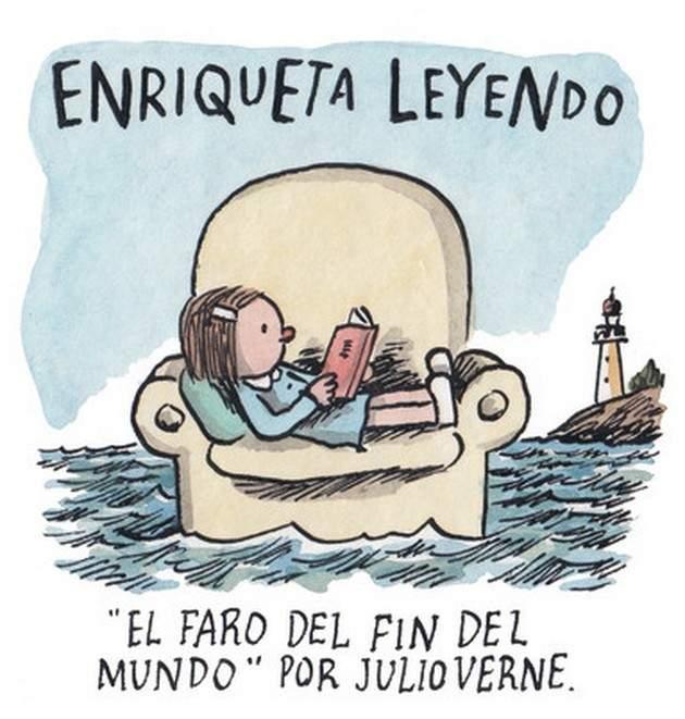 20 elocuentes viñetas de Liniers que rinden homenaje a la lectura 1