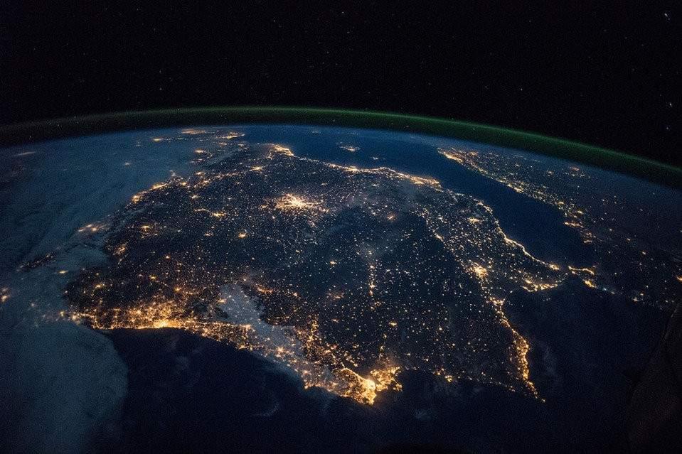 El inquietante avance de la contaminación lumínica visto desde el espacio 6