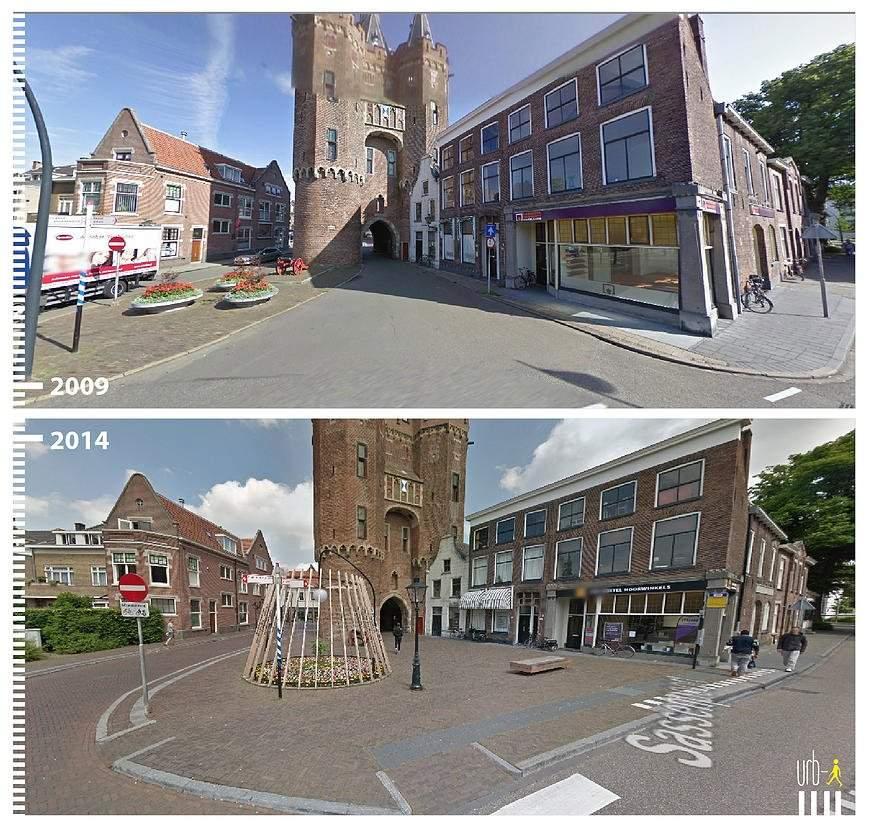 Sassenpoort, Zwolle, Países Bajos.