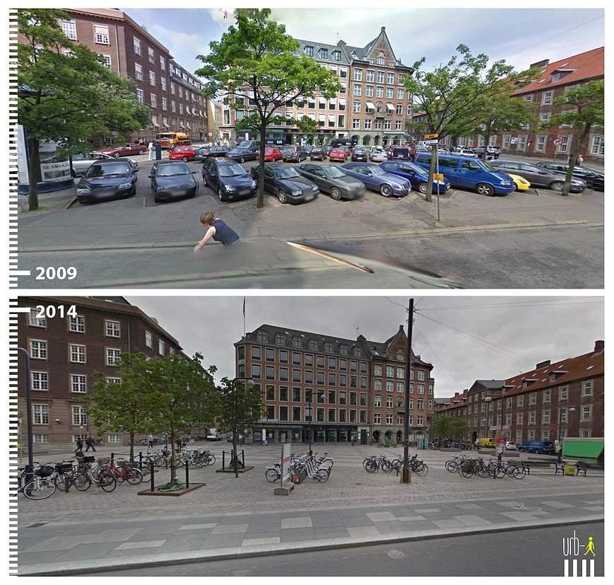 Regnbuepladsen, Copenhague, Dinamarca.