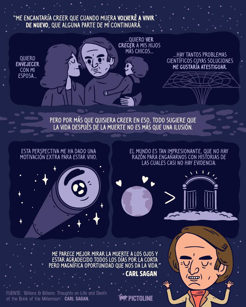 """""""Vivimos en una sociedad dependiente de la ciencia pero nadie sabe nada sobre ella"""" Carl Sagan 13"""