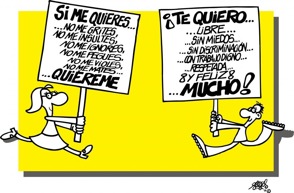 forges amor machismo