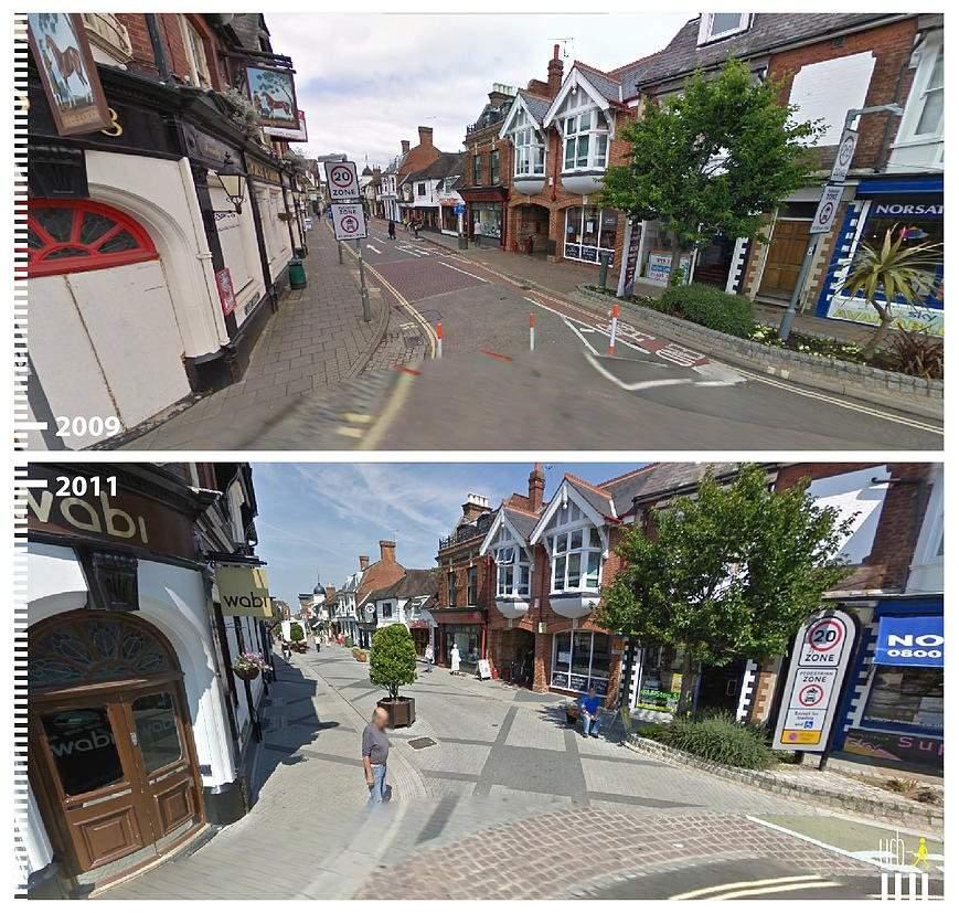 East Street, Horsham, Reino Unido.