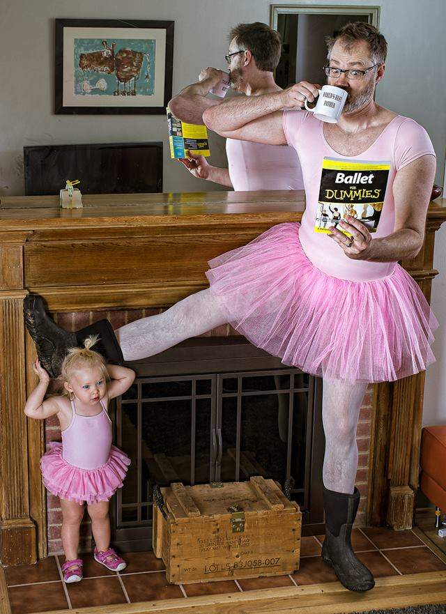 Estos padres se atreven a romper los roles de género para acercarse a sus hijas, ¿qué os parecen sus ideas? 1