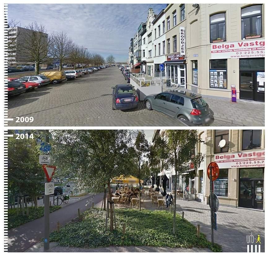 Amsterdamstraat, Amberes, Bélgica.