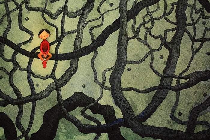 Ilustrando desencuentros y soledades: el mundo de Jimmy Liao 10