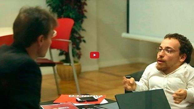 ¿Cómo reaccionarias si tu jefe tuviera discapacidad? #reacciona 9