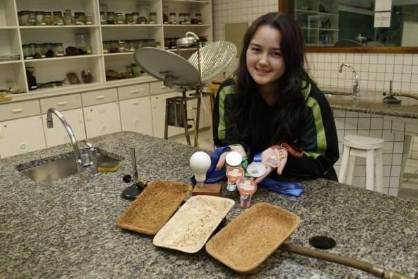 Sayuri Magnabosco, una chica brasileña de 17 años ha encontrado una alternativa biodegradable al poliestireno