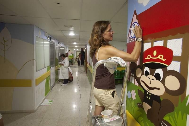 Hospitales llenos de colores para aliviar la estancia de los pequeños enfermos 1