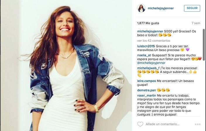 Michelle Jenner critica el estereotipo femenino al que ella también se ve sometida 8
