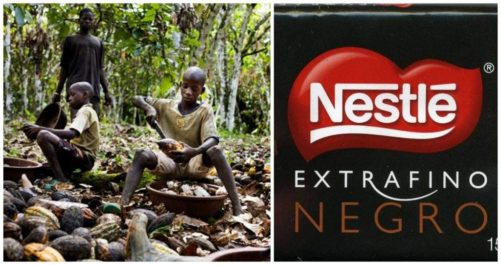 Nestlé es demandada por explotación infantil en Costa de Marfil 1