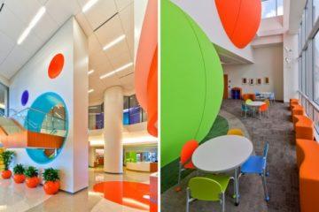 Hospitales llenos de colores para aliviar la estancia de los pequeños enfermos 4