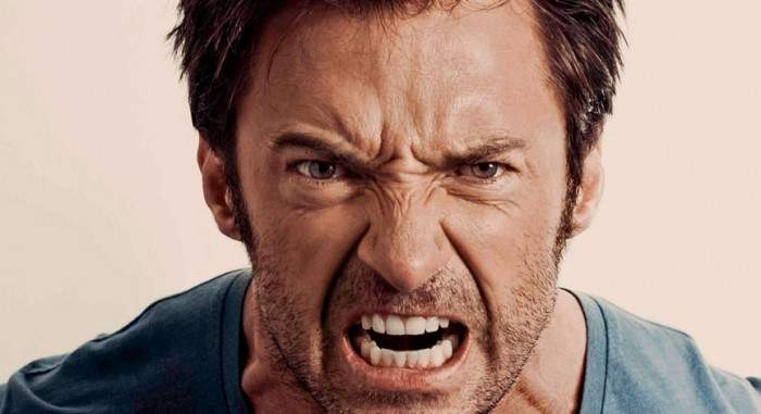 expresión de enfado