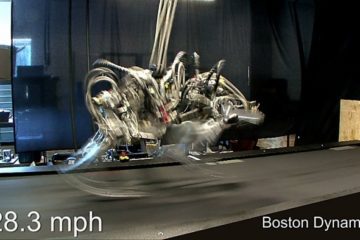 Este robot sin cabeza es capaz de correr más rápido que Usain Bolt 20