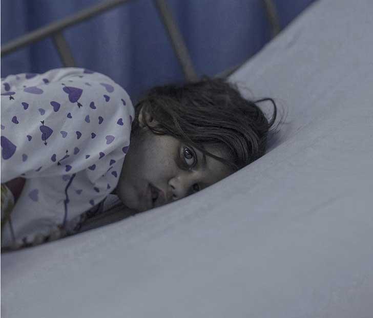1. Maram, 8 años, en Amman.