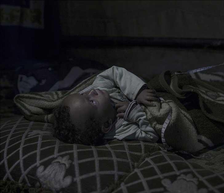 2. Amir, 20 meses, en Zahle Fayda.