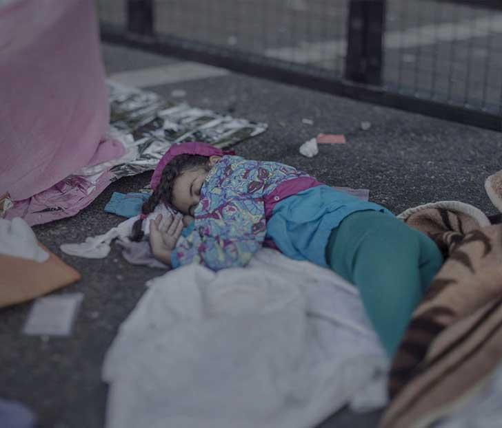 """""""Donde los niños duermen"""", un proyecto sobre los niños refugiados que avergUEnza a Europa 3"""
