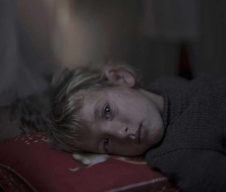 4. Walaa, 5 años, en Dar-El-Ias.