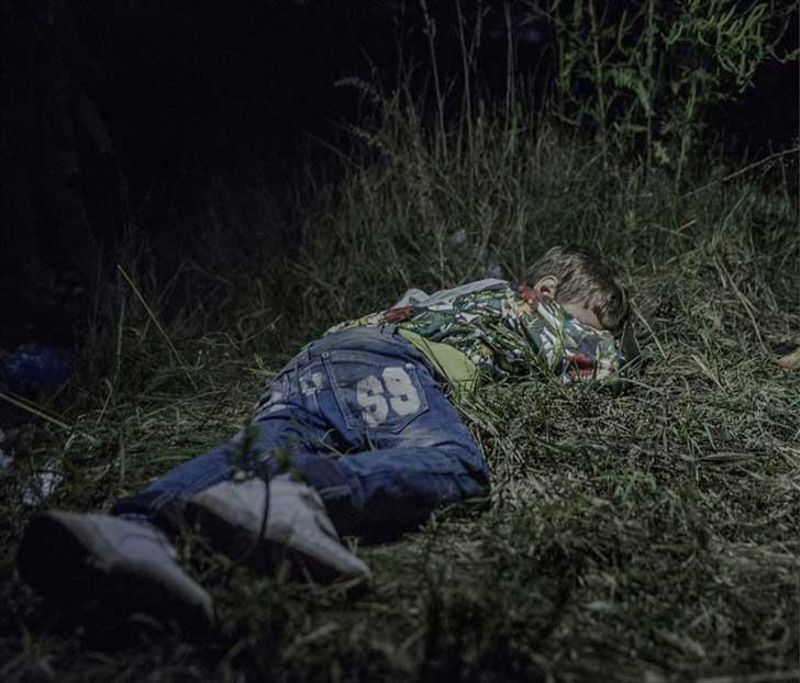 6. Ahmed, 6 años, en Horgos, Serbia.