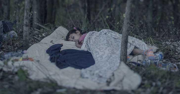 7. Lamar, 5 años, en Horgos, Serbia.