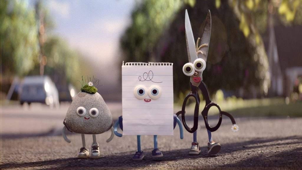 ¡Piedra, papel o tijera! Un hermoso corto que nos lanza un mensaje contra el acoso y las diferencias 2