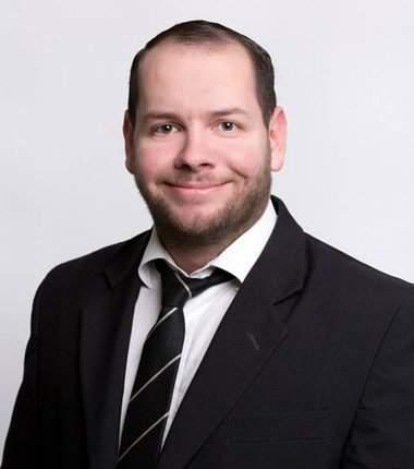 Stefan Jagsch, a NPD candidate in Hesse. Photograph- Facebook