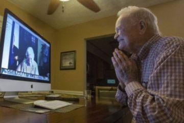 La guerra los separó durante más de 70 años. Ahora Skype los ha reunido de nuevo. 8
