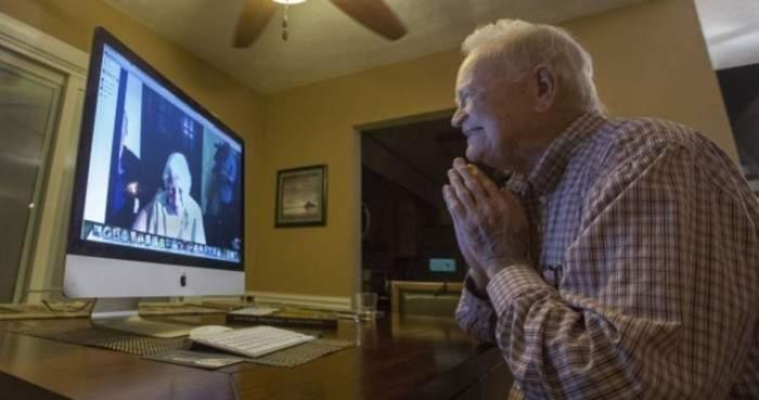 La guerra los separó durante más de 70 años. Ahora Skype los ha reunido de nuevo. 2