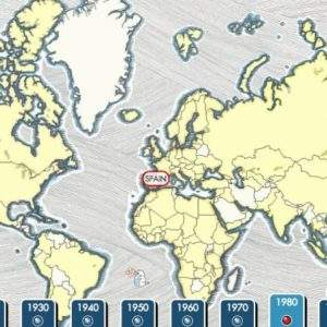Radiooooo, el mapa interactivo en el que puedes recorrer doce décadas musicales en todo el mundo 7