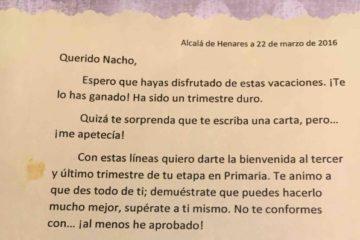 La carta de un profesor a sus alumnos que es un auténtico ejemplo de motivación 6
