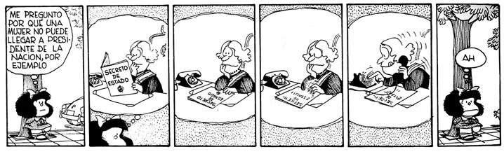 mafalda presidenta