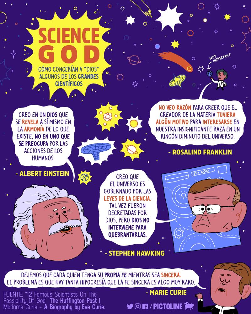 """Einstein sólo creía en el Dios de Spinoza. ¿Sabes cómo es ese """"Dios""""? 2"""