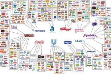 Estas son las 10 empresas que producen casi todo lo que consumes cada día 10