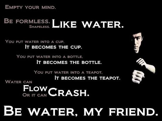 be-water-muhimu