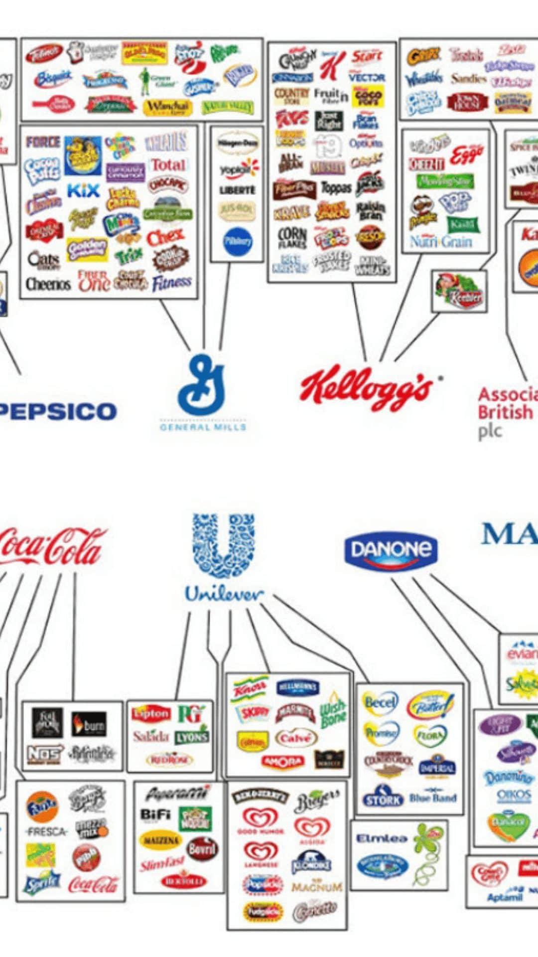 Estas son las 10 empresas que producen casi todo lo que consumes cada día 3