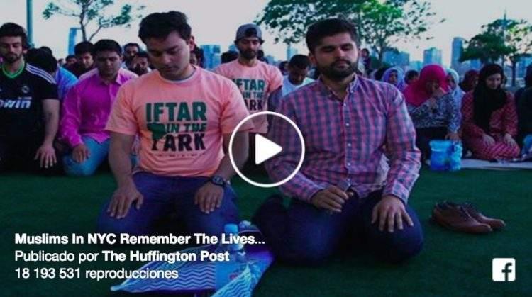 Emotivo vídeo: 200 musulmanes se reunen para rezar por las víctimas inocentes de Orlando 16