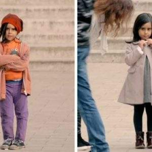 ¿Qué harías si vieras a una niña perdida en la calle? 11