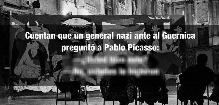 La conversación que tuvieron Pablo Picasso y un oficial nazi acerca del 'Guernica' 17