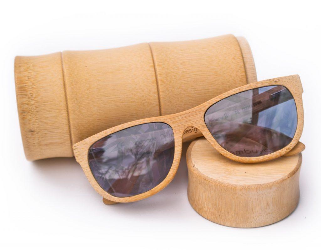 "Las gafas de bambú fabricadas a mano de ""Holanda Bambuya"""