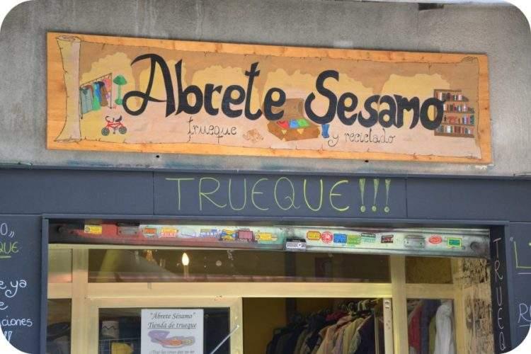 """""""Ábrete Sésamo"""", una tienda en la que no se paga con dinero"""