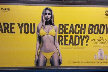 El metro de Lodres prohibirá exponer publicidad de cuerpos extremadamente delgados o musculosos 14