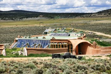 Nave Tierra, una casa ecológica y económica en el fin del mundo 4