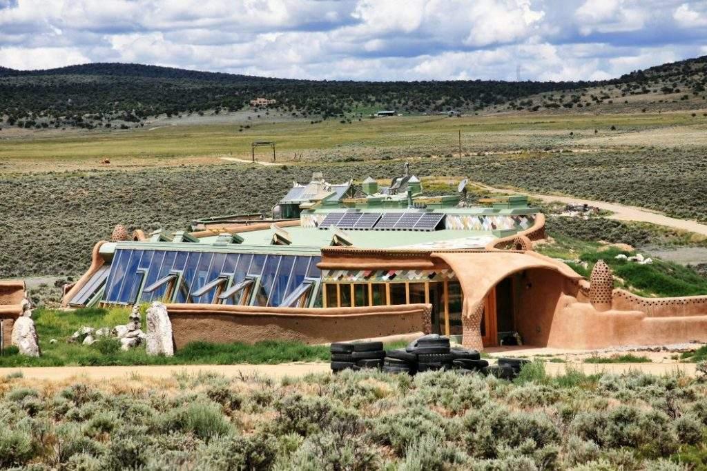 Nave Tierra, una casa ecológica y económica en el fin del mundo 1