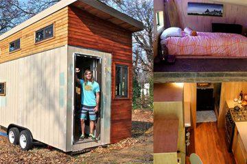 Construye su propia casa y evita endeudarse. Simplicidad voluntaria como elección de vida. 14